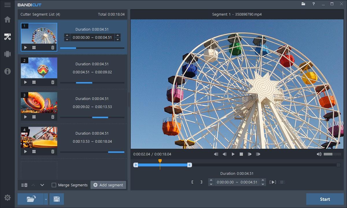phần mềm cắt video online