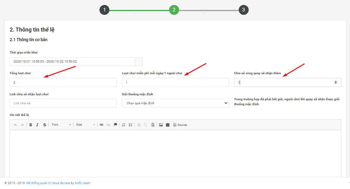 Tạo minigame trên chatbot