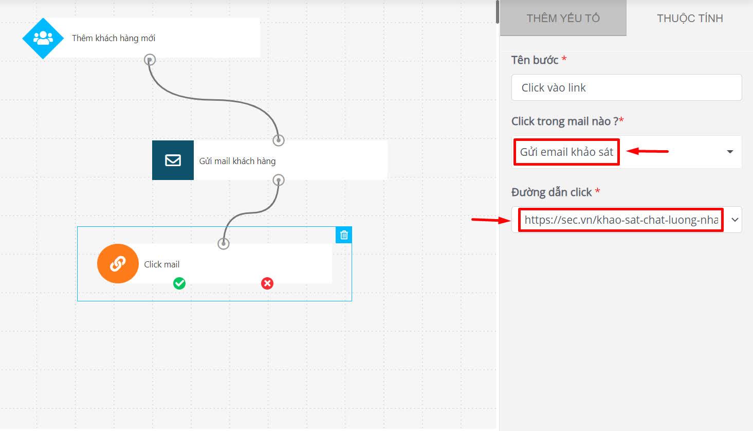 Kịch bản Email Automation mẫu cho Nhà hàng: Khảo sát và tặng voucher kích thích thực khách quay trở lại