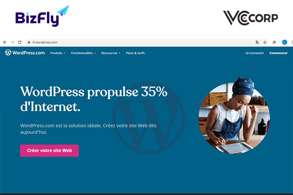 Tạo web miễn phí mãi mãi bằng Wordpress