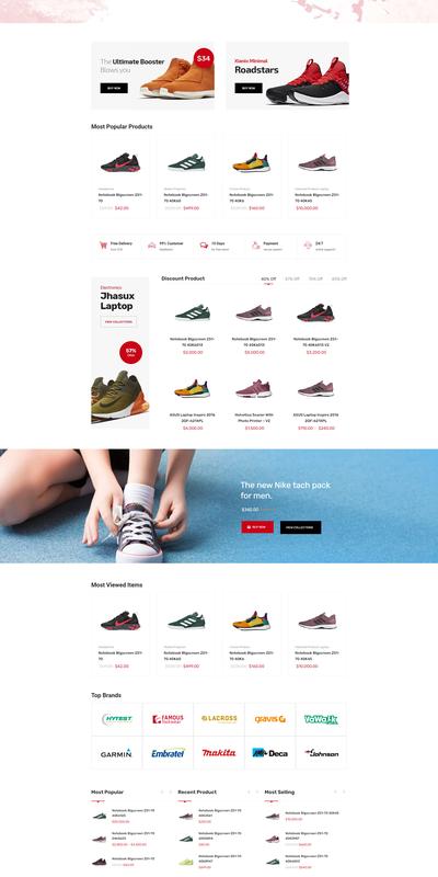 Shop giày  Marketo
