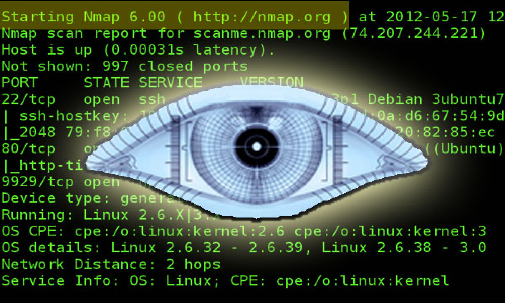 bảo mật website bằng công cụ Nmap