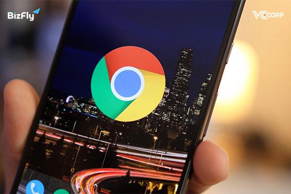 Chrome- Một trong các trình duyệt web trên điện thoại chất lượng