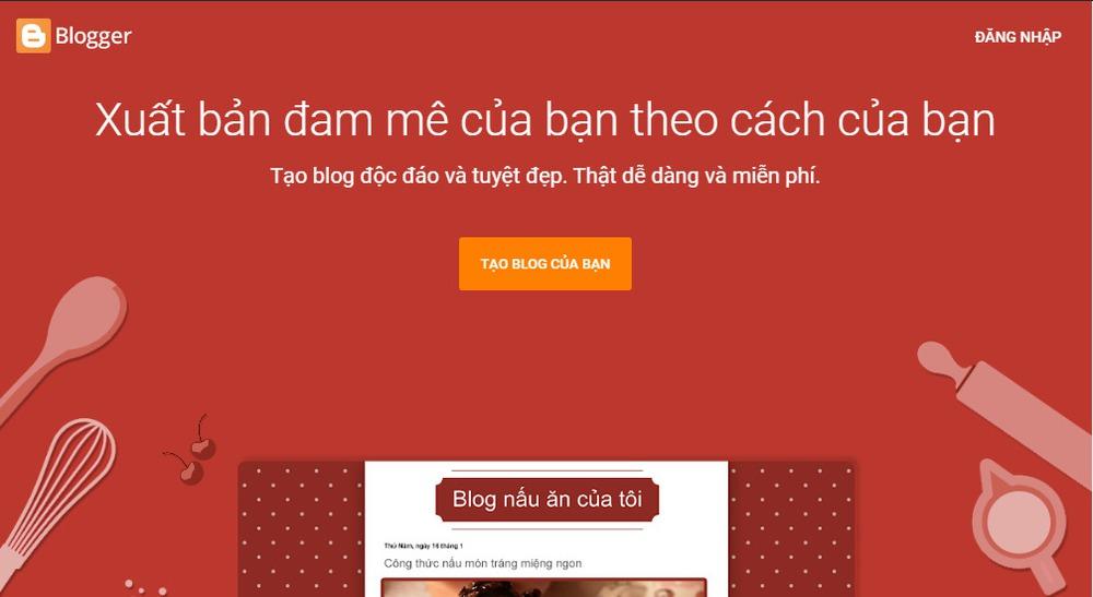 Các cách tạo website cá nhân miễn phí tốt nhất