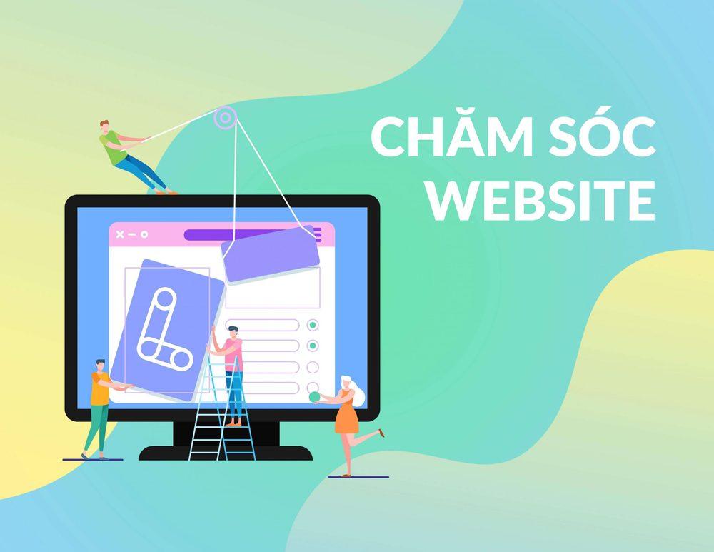 Chăm sóc website là gì