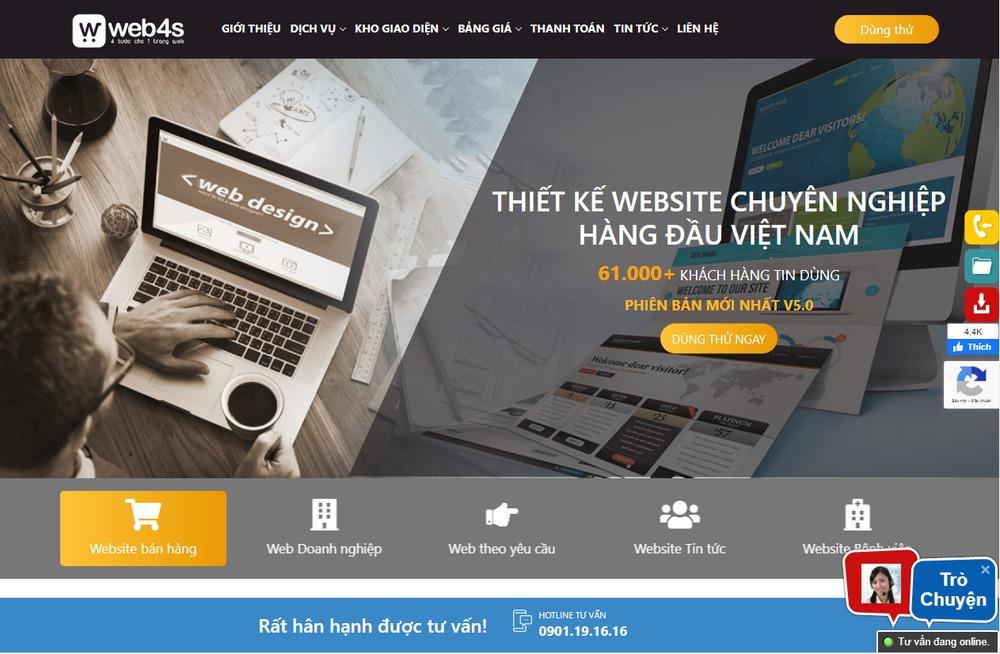 công ty thiết kế website hàng đầu tại Hà Nội