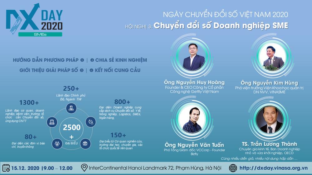 Hội nghị về chuyển đổi số - chìa khóa cho doanh nghiệp Việt đột phá trong đại dịch