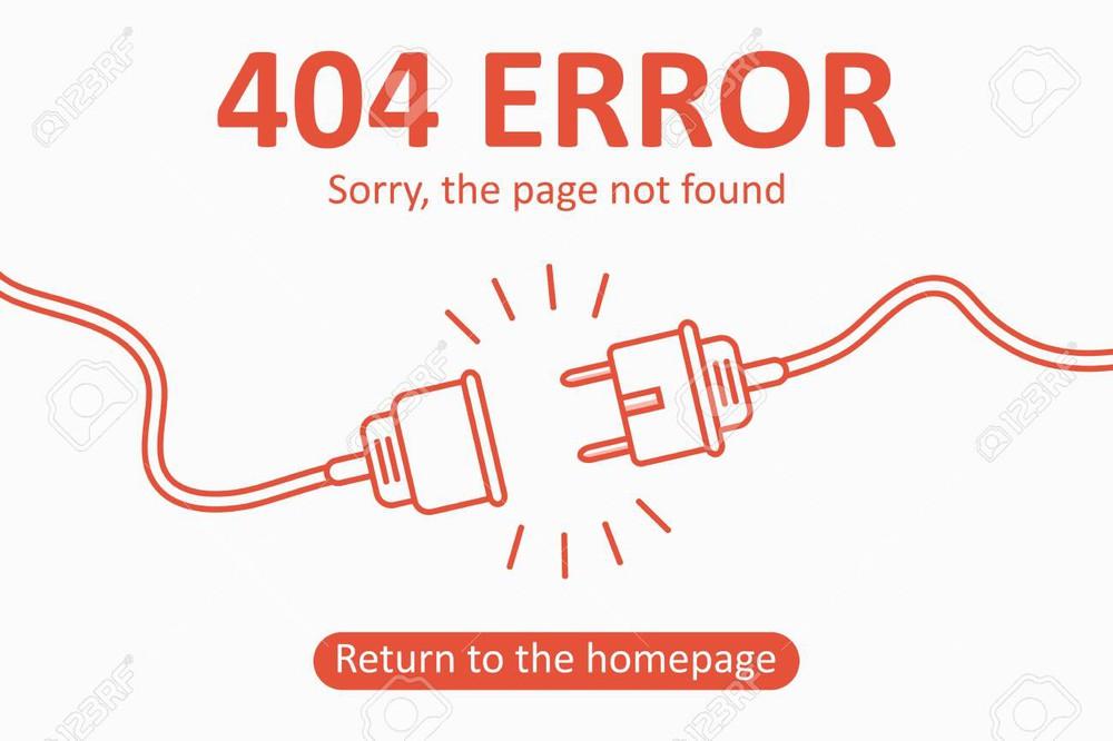 Một số lỗi tương tự lỗi URL không hợp lệ