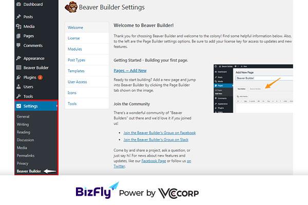 Cách tạo landing page wordpress với Plugin Beaver Builder