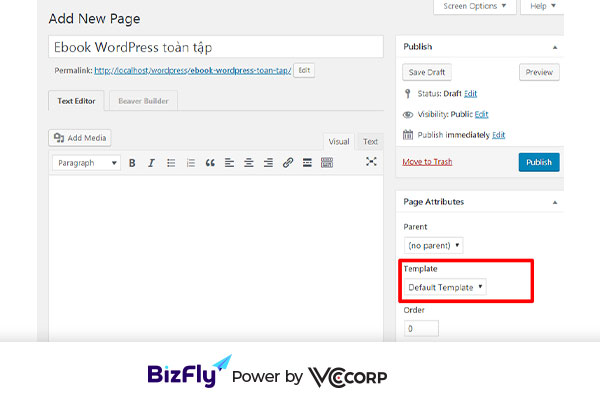 tạo landing page wordpress với Plugin Beaver Builder