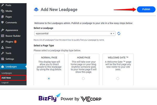 tạo landing page wordpress với Plugin Beaver Builder14