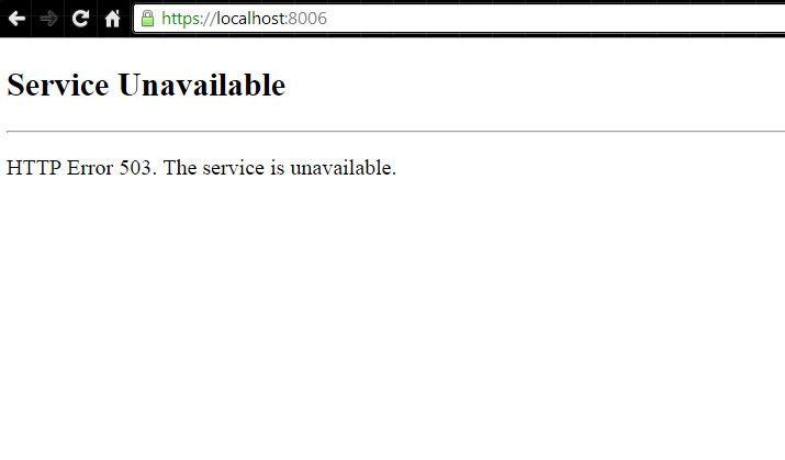 Cách nhận biết lỗi 503 Service Unavailable