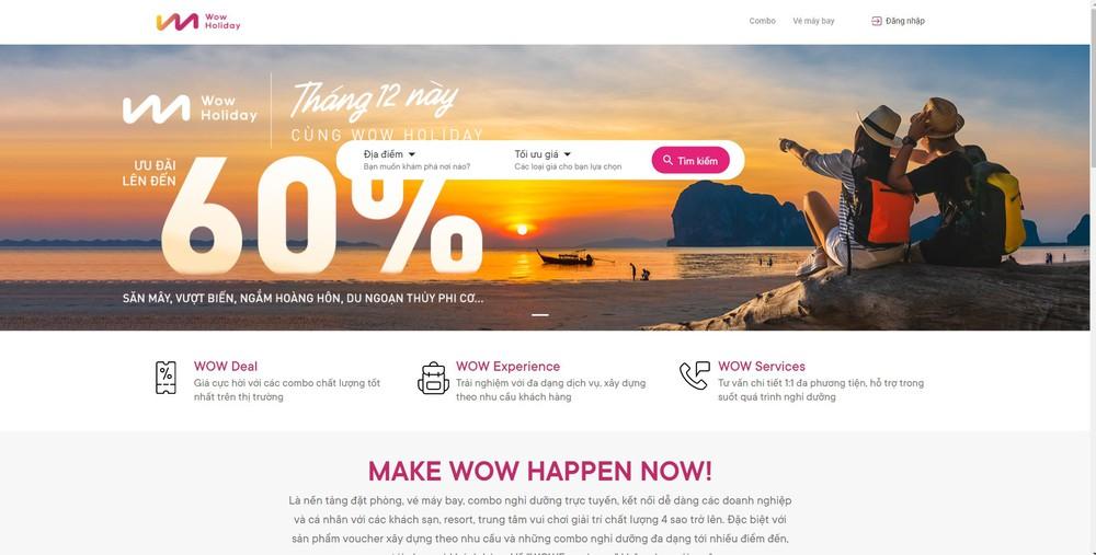 mẫu thiết kế website tại Bizfly Website