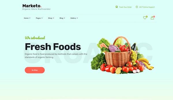 Mẫu thiết kế website bán hàng online ấn tượng
