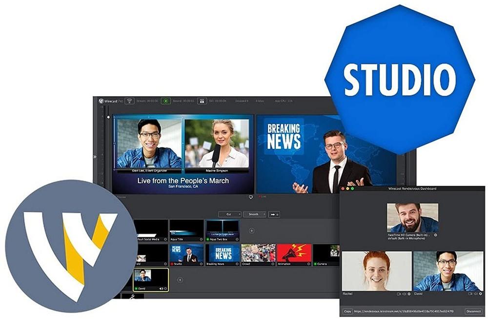 WireCast là phần mềm live stream