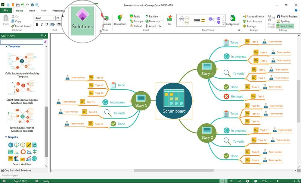 phần mềm vẽ sơ đồ tư duy chuyên nghiệp