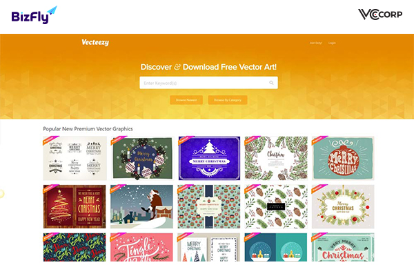 Vecteezy is a website that allows downloading free website templates