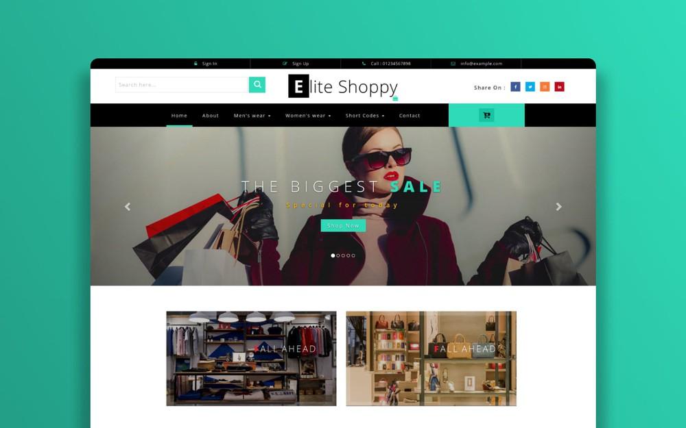template website bán hàng