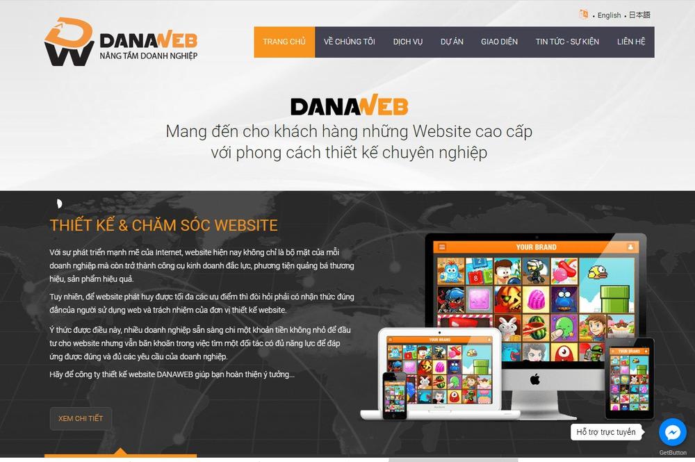 địa chỉ thiết kế website tốt nhất tại Đà Nẵng