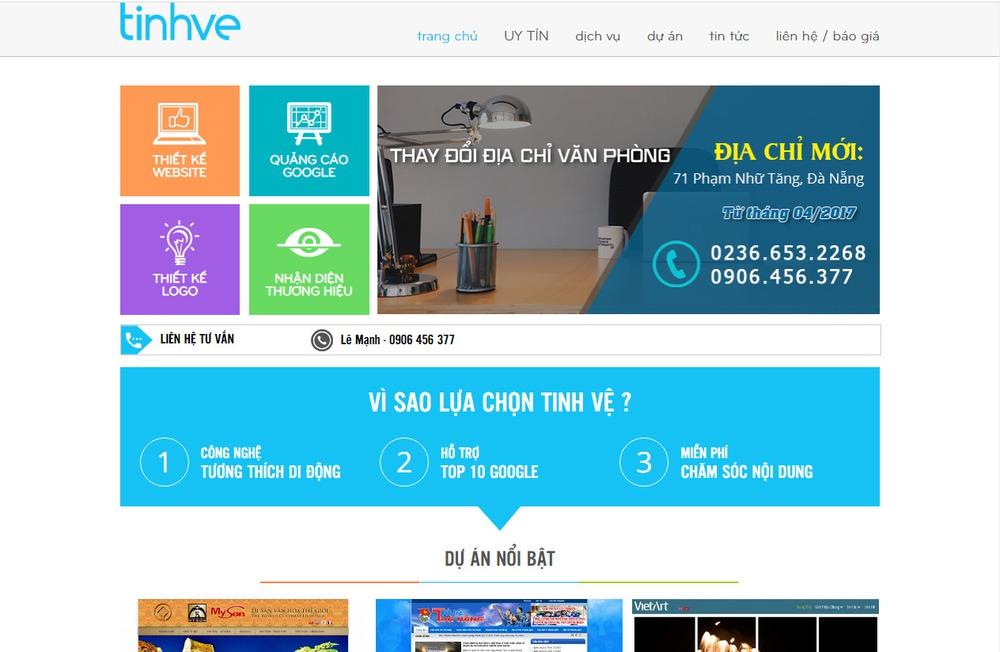 thiết kế website lớn nhất tại Đà Nẵng