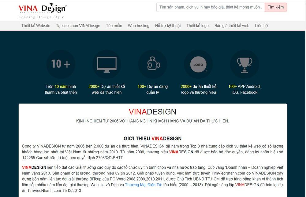thiết kế website lâu năm tại Đà Nẵng