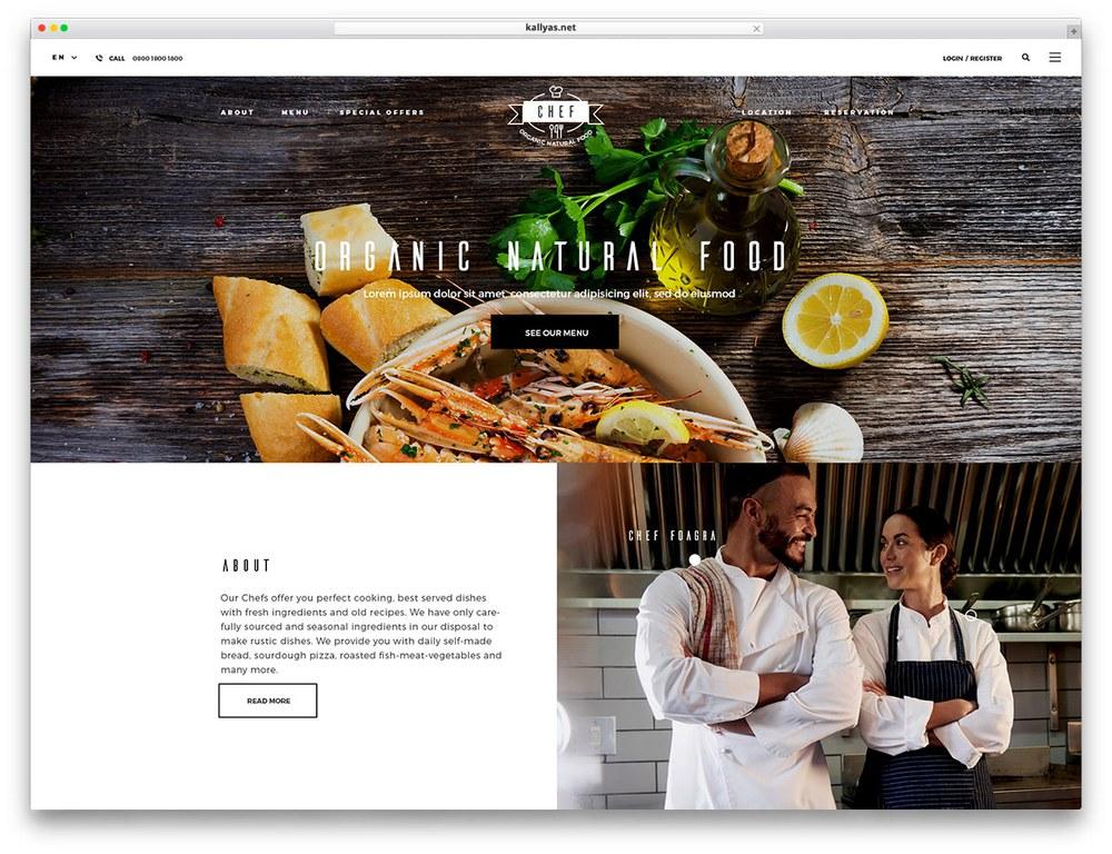Một số lưu ý khi thiết kế website nhà hàng