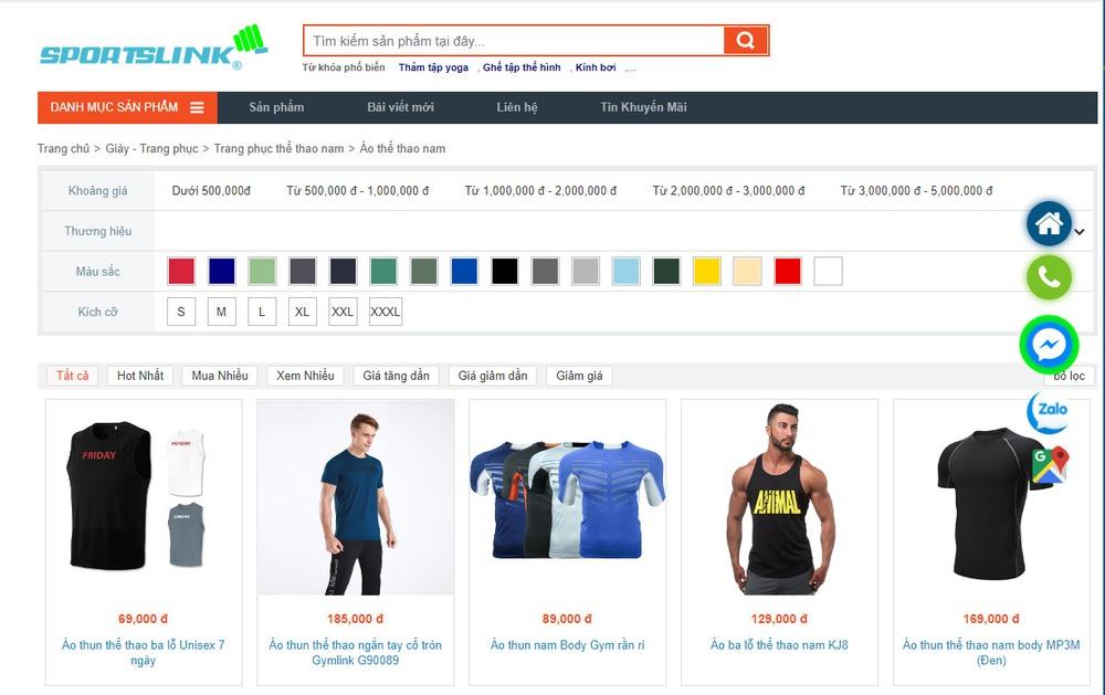 Vì sao cần thiết kế website bán đồ thể thao chuyên nghiệp