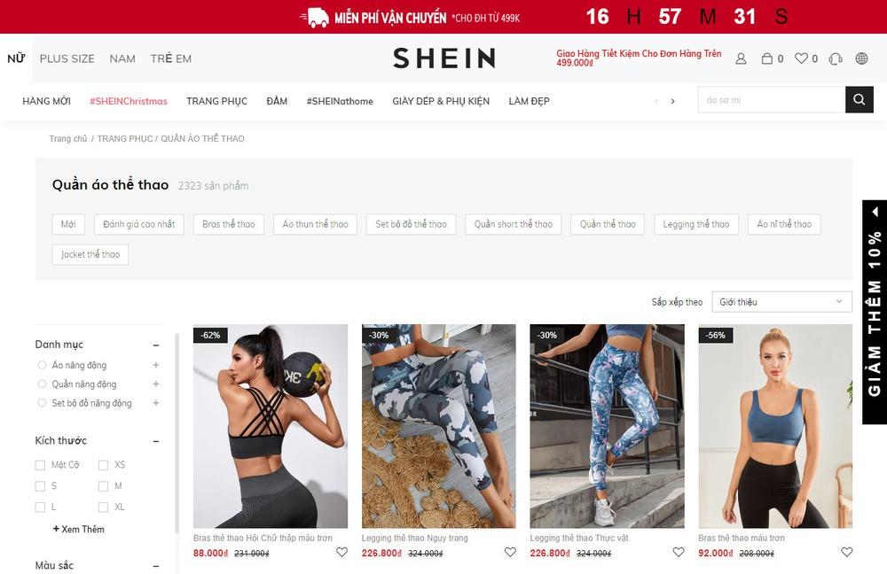 Các chức năng cần có khi thiết kế website bán đồ thể thao