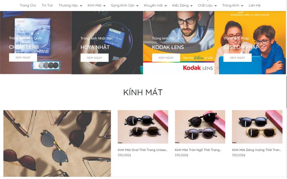 Những chức năng cần thiết mà một website bán mắt kính cần có