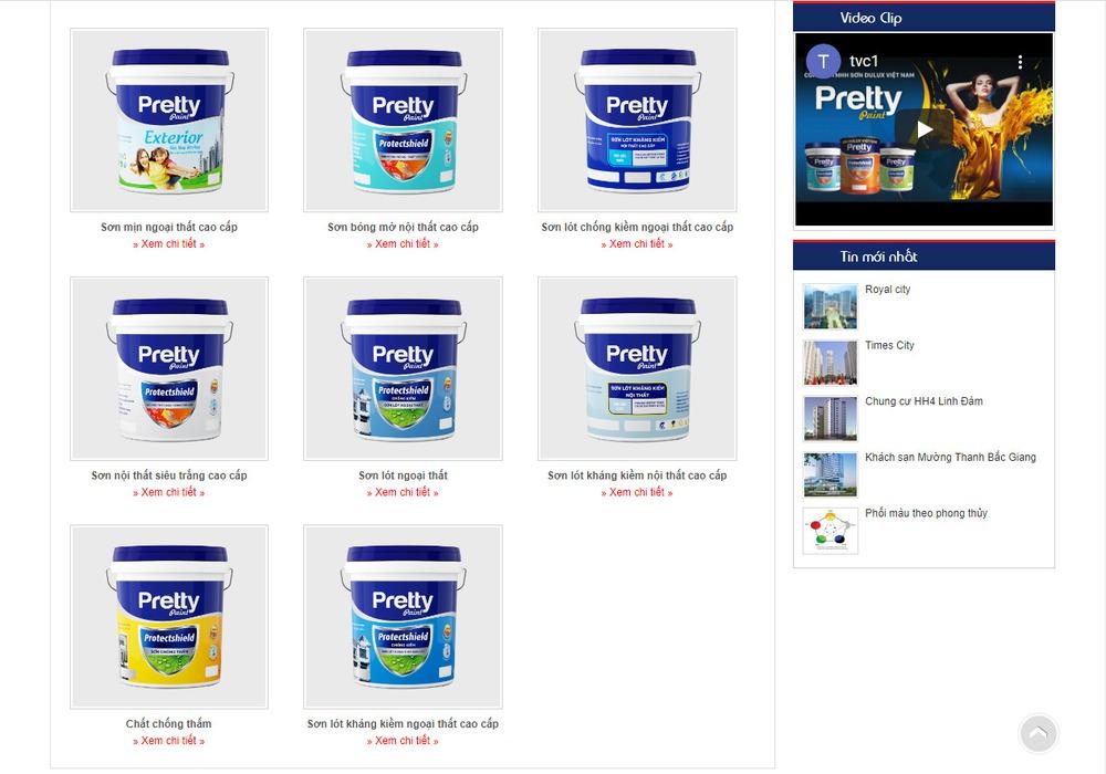 Vì sao nên thiết kế website bán sơn chuyên nghiệp?