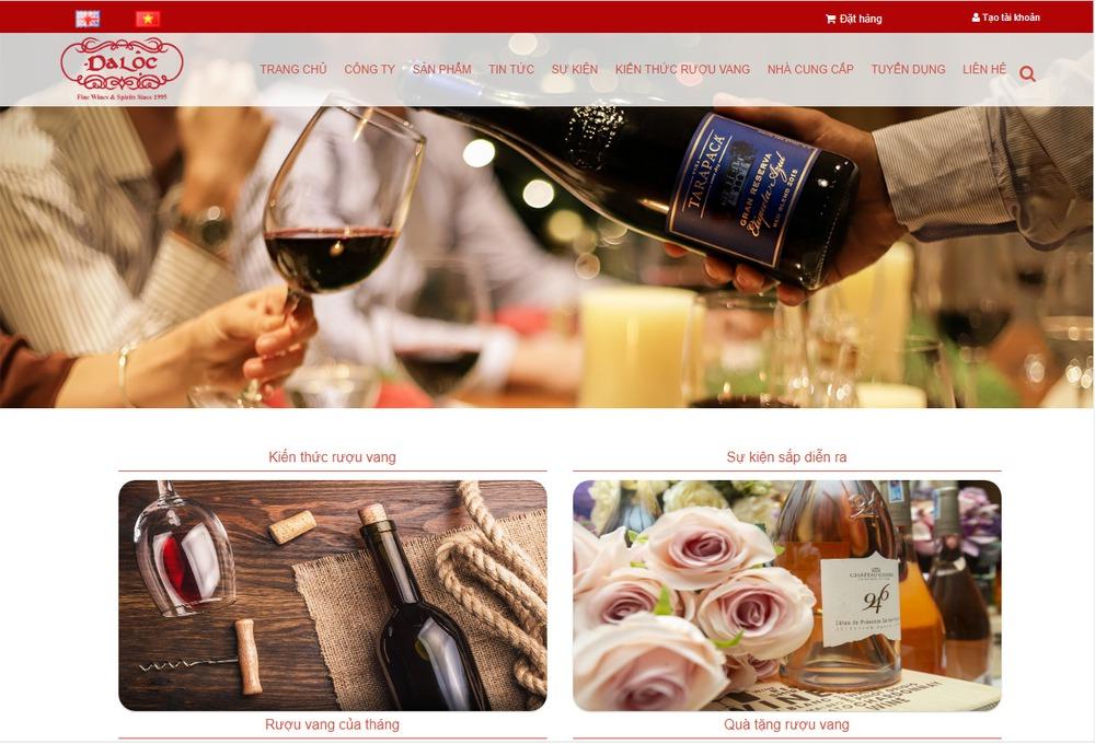 Các tính năng quan trọng khi thiết kế website bán rượu