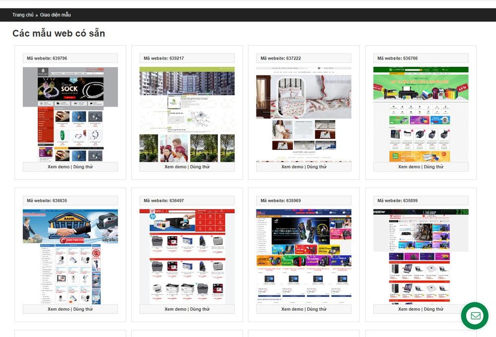 thiết kế website tại Thanh Hóa uy tín
