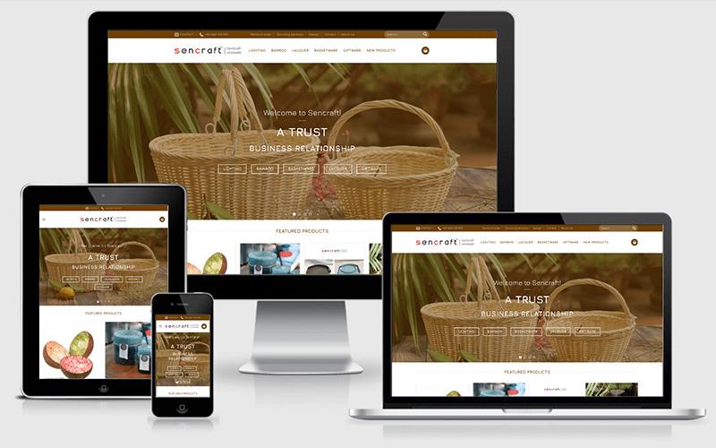 thiết kế website thủ công mỹ nghệ