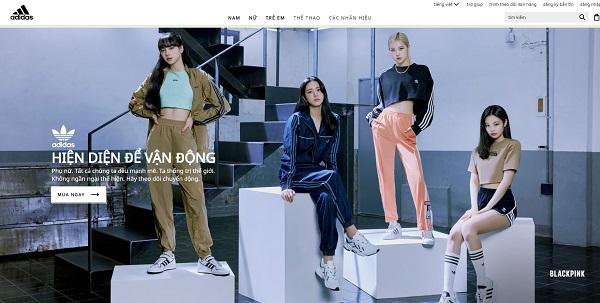 Mẫu thiết kế website bán đồ thể thao đẹp mắt