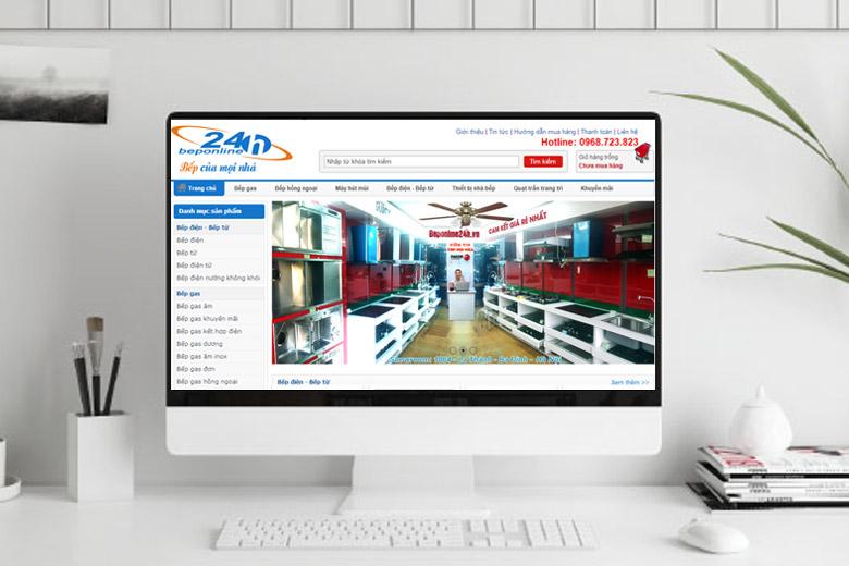 Thiết kế website bán gas