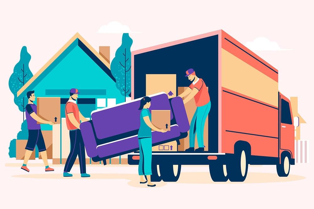 thiết kế website dịch vụ chuyển nhà