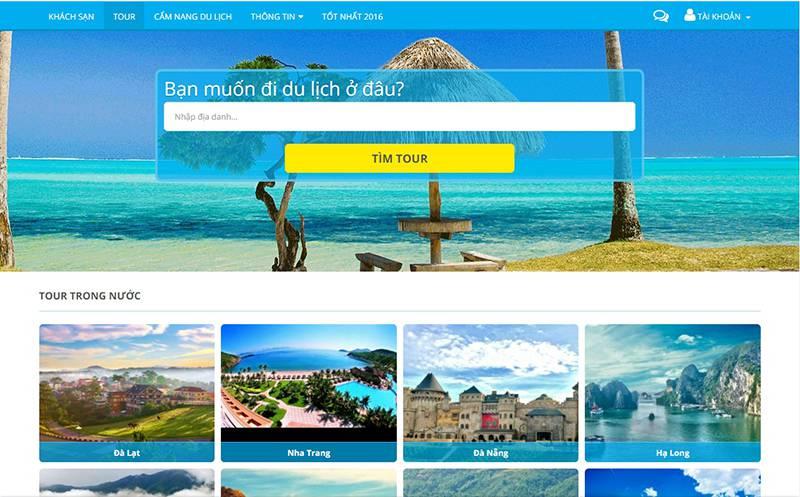 Thiết kế website du lịch chuyên nghiệp cần có tiêu chí gì