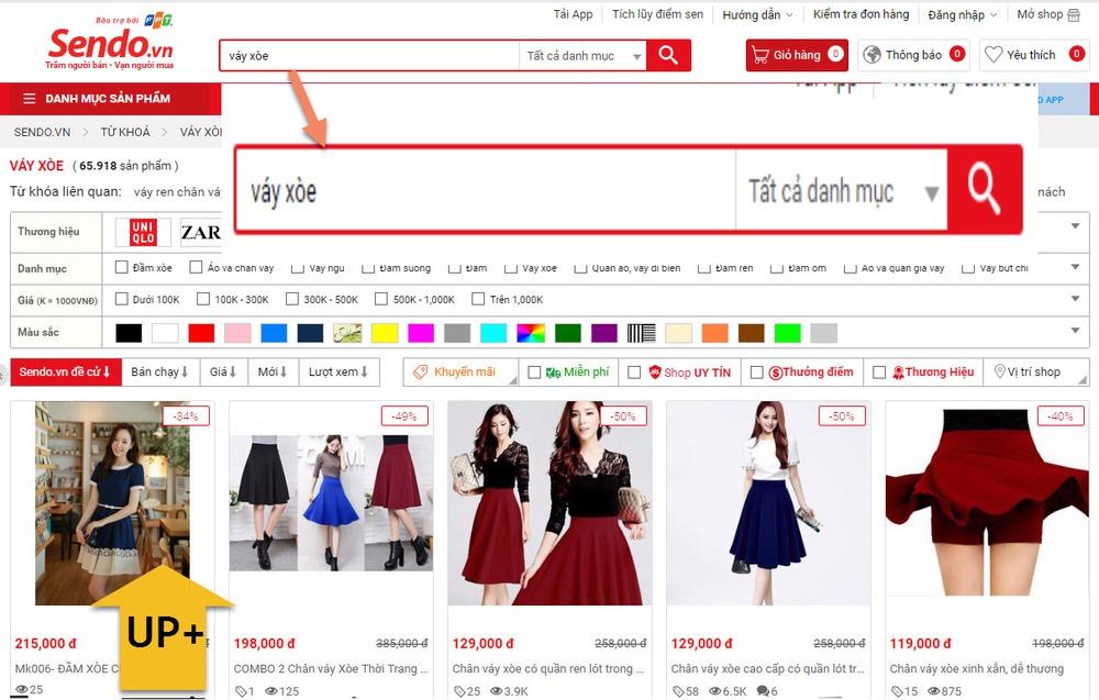 trang web thương mại điện tử uy tín