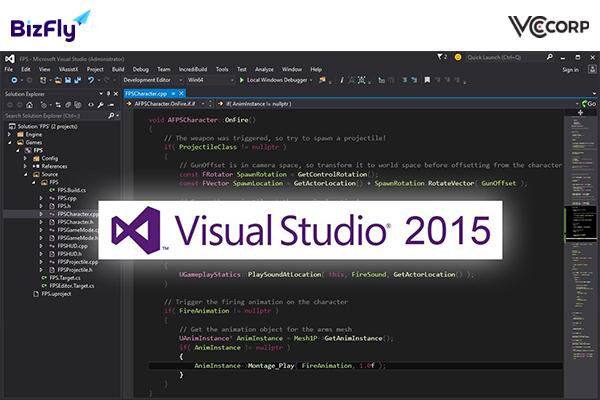 Lịch sử phát triển Visual Studio