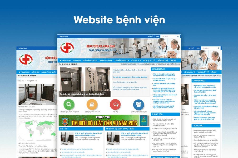 Tại sao cần phải thiết kế website bệnh viện, phòng khám