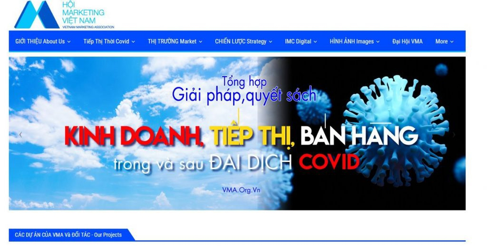 website về marketing