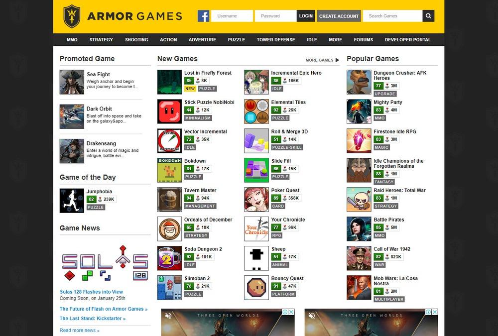 web game online