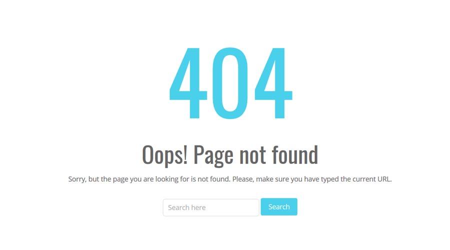 Những lỗi thường gặp khi thiết kế web