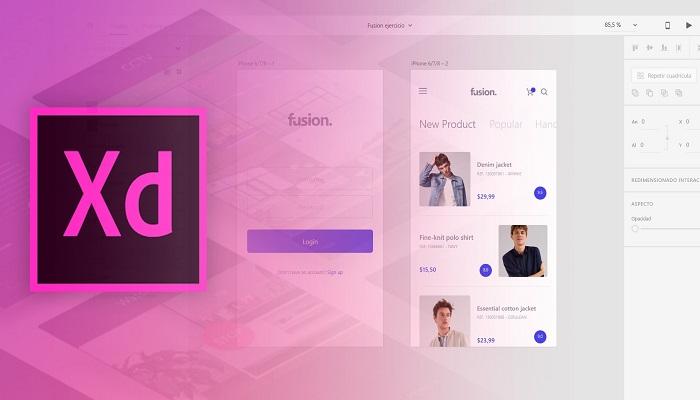 thiết kế web bằng adobe xd