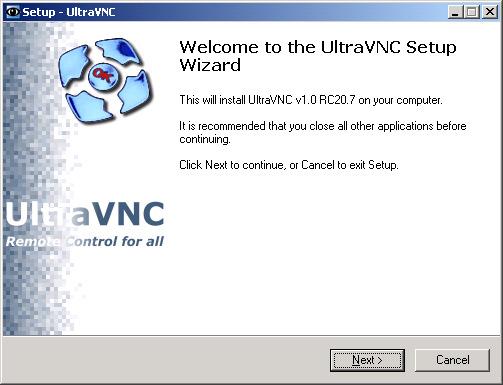 Phần mềm điều khiển máy tính từ xa Ultra VNC