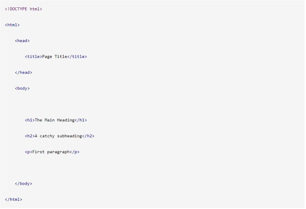 Bố cục lập trình web HTML