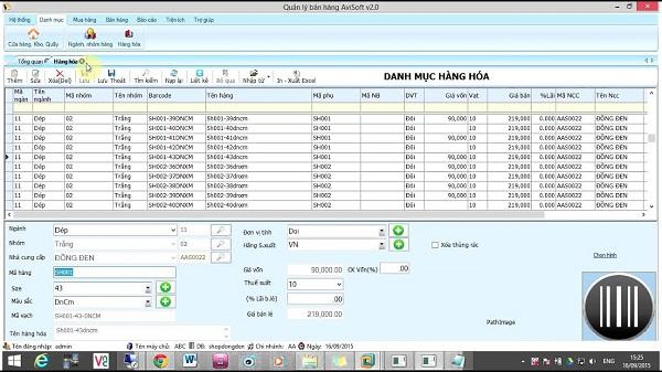 phần mềm quản lý bán hàng miễn phí