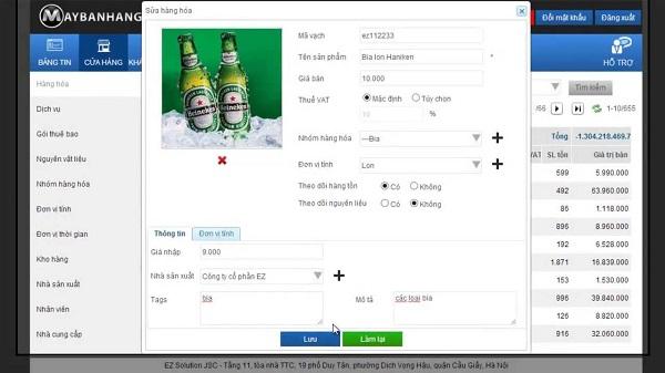 Phần mềm quản lý bán hàng toàn diện Maybanhang.net