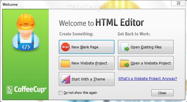 phần mềm thiết kế website
