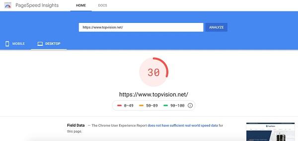 Cách tăng tốc độ website